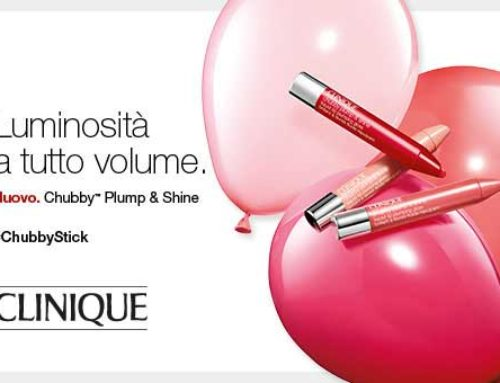 Il nuovo Chubby™ Plump & Shine di Clinique